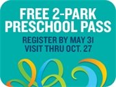 2-Park preschool passes are now available