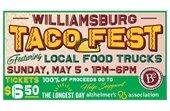 Williamsburg Taco Fest flier