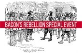 Bacon's Rebellion Special Event