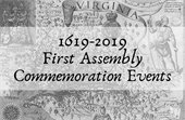 1619 Commemoration Events for First Assembly