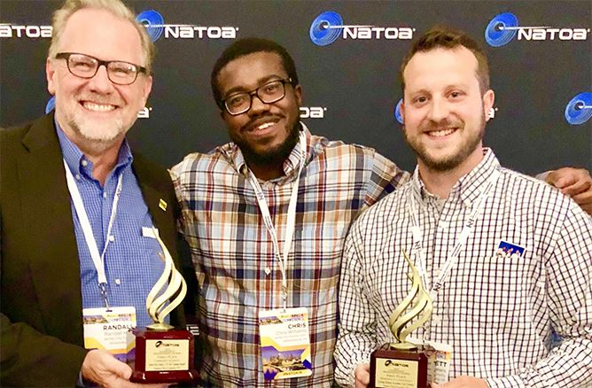 NATOA awards for web