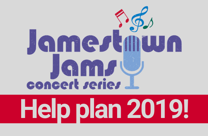 Jamestown Jams survey graphic