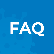 COVID FAQ Button