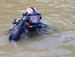 Recovery Officer in the Water